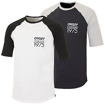 Oakley Sport Herren Palm Raglan T Shirt