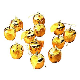 Christmas tree, Apples-12 pack (Gold)