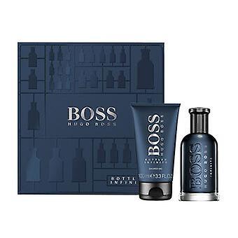 Hugo Boss Boss Bottled Infinite Zestaw prezentów 100ml EDT + 100ml Żel pod prysznic