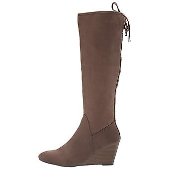 XOXO Women's Burkey Knee High Boot Dark Taupe 10 M US