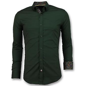 Business Shirts - - Green
