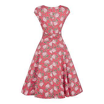 Collectif Vintage vrouwen ' s uitlopende Regina mulled bloemen jurk