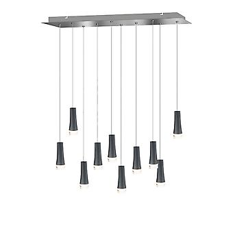 Firebolt 10 mini hängande belysning svart