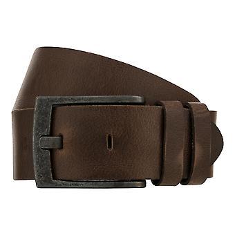 Teal Belt Men's Belt Leather Belt Jeans Belt Brown 8421