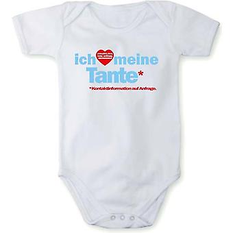 With pressure, I love Baby Bodysuit my aunt in different languages