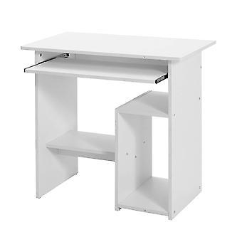 Tavolo del computer compatto con scorrimento tastiera e vano desktop
