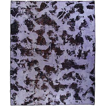 Handknuten Persisk Vintagematta Tabriz 243x300cm