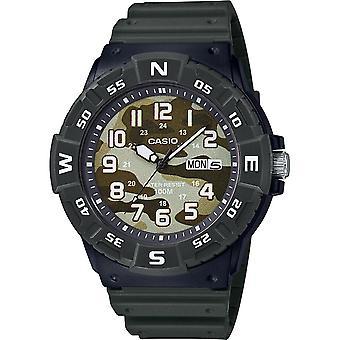 Titta på Casio Collection MRW-220HCM-3BVEF-Neobrite arm band klocka och Box R sine Homme