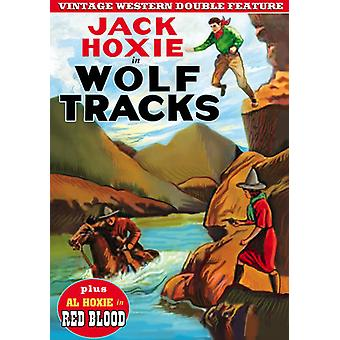 Wolf Tracks (1923) / Red Blood (1925) [DVD] USA import