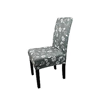 FP1 - Floral Printed Short Spandex Chair Cover