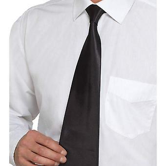 Deluxe Black Gangster Tie Adult Black