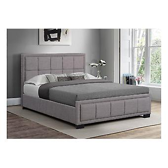 Hannover Bed - Grey Fabric