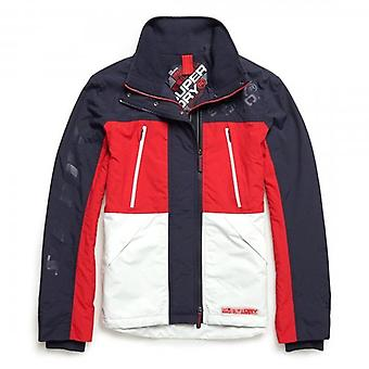 Superdry Polar Downhill Attacker Jacket Red WA7