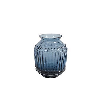 Lys & Levende Vase 9x12cm Soneiro Glass Blå