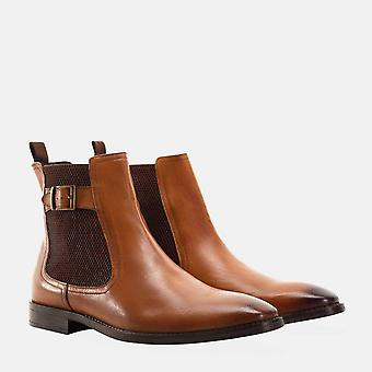 Harold tan leather chelsea boot