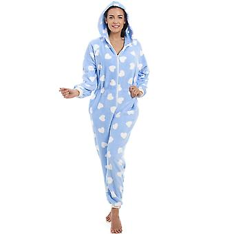 Camille Camille Womens Heart Print Onesies