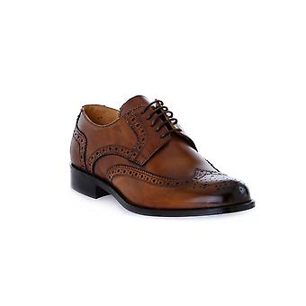 Exton calf camel shoes