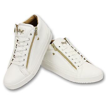 Sneaker - Bee White Gold 2- White