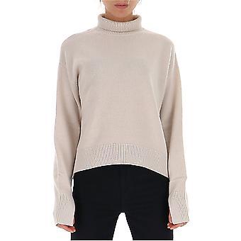 -apos;S Max Mara 93661093000128001 Femmes-apos;s Beige Wool Sweater