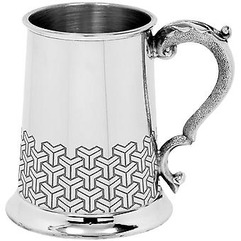 Symetrix Pewter Tankard-1 pint