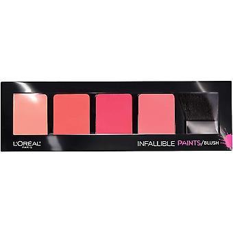 L'Oreal Paris ufejlbarlig maling blush (230), 0,3 oz