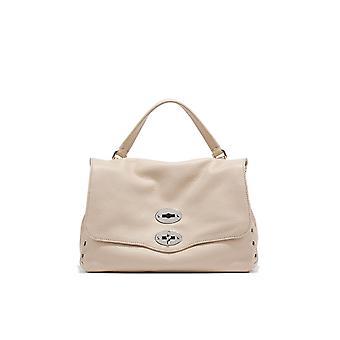 Zanellato 612018v2 Women's Witte Lederen Handtas