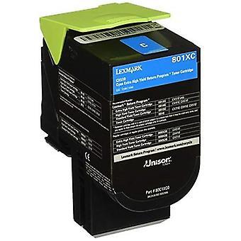 Lexmark 78C6Xce Cyan Extra High Toner 5K