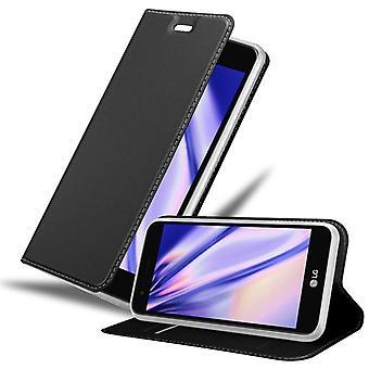 Fodral för LG K4 2017 Vikbart telefonhölje - Lock - med stativfunktion och kortfack