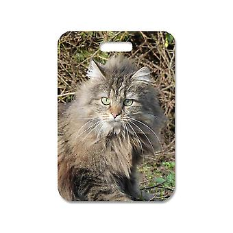 Norwegian Forest Cat Large Bag Pendant