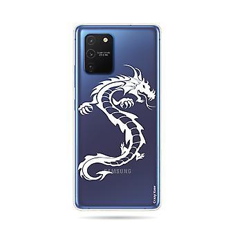 Rumpf für Samsung Galaxy S10 Lite Soft Dragon Weiß