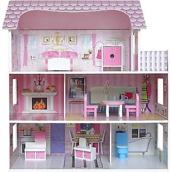 Kiddi Style Large Victorian Wooden Doll House