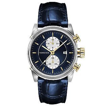 Versace Watch Wristwatch Chronograph Urban VEV400219 Cuir