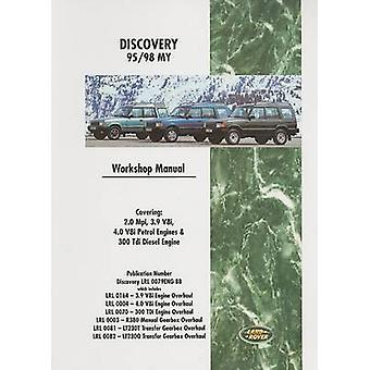 Land Rover Discovery 95/98 My  Workshop Manual - LRL 0079 ENG by Brook