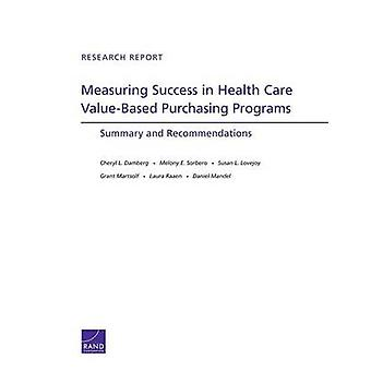 Measuring Success in Health Care Value-Based Purchasing Programs - Sum