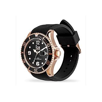 Ice Watch Armbandsur Unisex ICE stål Svart Rose-Gold Stor 016766