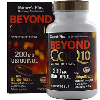 Nature's Plus Beyond COQ-10 200mg Ubiquinol Softgels 60 (49567)