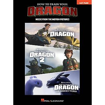 How to Train Your Dragon Easy Piano  Music from the Motion Pictures by By composer John Powell