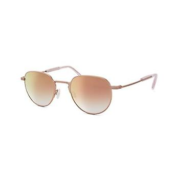 Barton Perreira Harald SUN BP0063 1VU Rose Gold/Cherry Moon Mirror Sunglasses