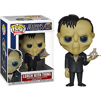 Addams Family (2019) Lurch with Thing Pop! Vinyl