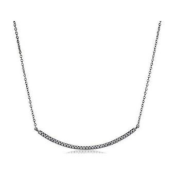 Sif Jakobs Necklace Fucino Silver Collection SJ-C0065-CZ