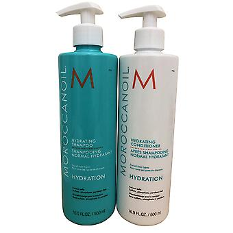Moroccanoil Hydrating Shampoo & Conditioner DUO 16.9 OZ Each