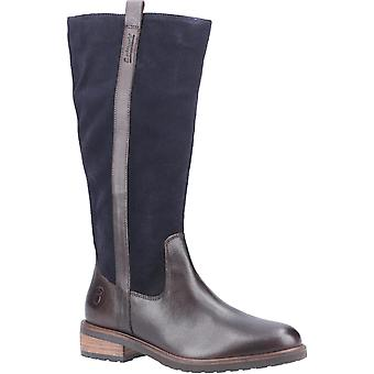 Cotswold Womens Ampney Long Boot Brown/Navy