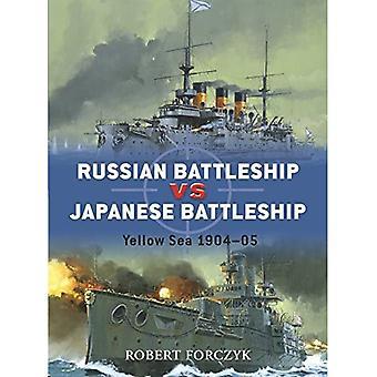 Russian Battleship Vs Japanese Battleship: Yellow Sea 1904-05 (Duel)