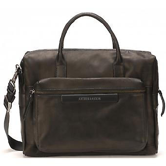 Small Briefcase - Leather