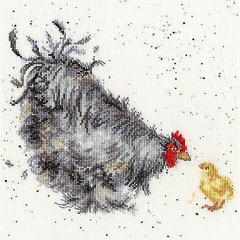 Bothy Threads Cross Stitch Kit - Moeder Hen