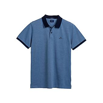 Gant Men's Four-Color Pique Polo T-Shirt Regular Fit