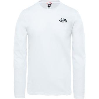 De North Face Easy T92TX1FN4 universeel het hele jaar mannen t-shirt
