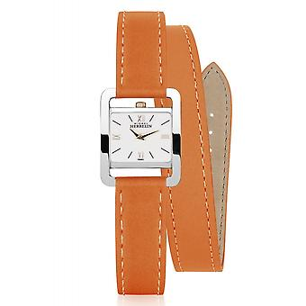 Michel Herbelin 17037-TR21LOR Women's 5th Avenue Tan Strap Wristwatch