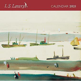 L.S. Lowry Mini Wall calendar 2021 Art Calendar by Created by Flame Tree Studio