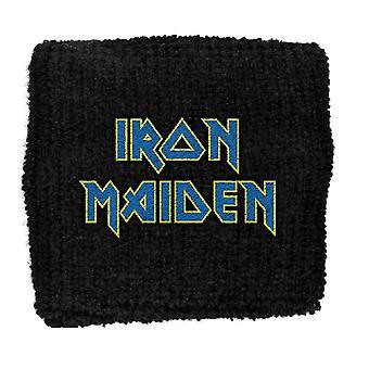 Iron Maiden Sweatband band Logo Flight 666 New Official black Cotton